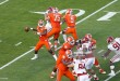 MIAMI GARDENS, FL - DECEMBER 31: Deshaun Watson #4 of the Clemson Tigers throws the ball against the Oklahoma Sooners in the first quarter during the 2015 Capital One Orange Bowl at Sun Life Stadium on December 29, 2015 in Miami Gardens, Florida. Clemson defeated Oklahoma 37-17. (Photo by Joel Auerbach/Getty Images) *** Local Caption *** Deshaun Watson