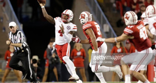 MADISON, WI - OCTOBER 29: Tommy Armstrong Jr. #4 of the Nebraska Cornhuskers passes the football during second quarter against the Wisconsin Badgers at Camp Randall Stadium on October 29, 2016 in Madison, Wisconsin. (Photo by Mike McGinnis/Getty Images)  *** Local Caption *** Tommy Armstrong Jr.