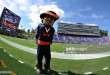 DURHAM, NC - OCTOBER 01: The mascot of the Virginia Cavaliers looks on during their game against the Duke Blue Devils at Wallace Wade Stadium on October 1, 2016 in Durham, North Carolina. Virginia defeated Duke 34-20. (Photo by Lance King/Getty Images)